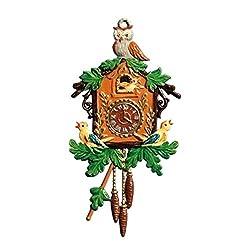 Wilhelm Schweizer Pendant of Pewter, Cuckoo Clock