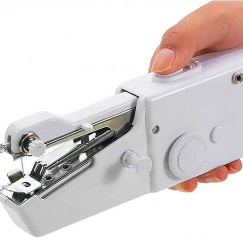 WZhen Portátil Handy Stitch Batería Alimentación Máquina De Coser ...