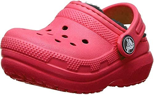 Crocs Kids' Classic Lined Clog, Pepper