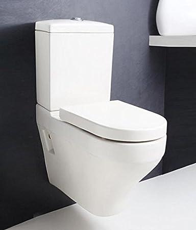 Hindware Cornice 92055 Ceramic Wall Hung Water Closet White Three