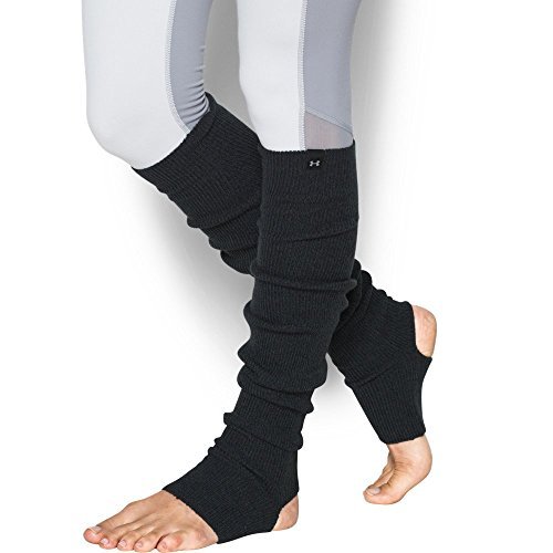Under Armour Women's Essentials Leg Warmers, Black (001)/Steel, One Size (Leg Warmers Best And Less)