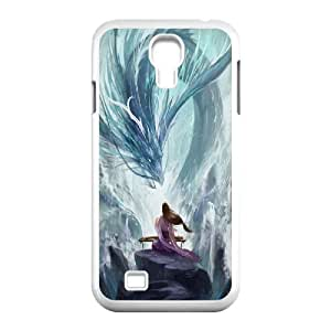 James-Bagg Phone case dragon at sky pattern For SamSung Galaxy S4 Case FHYY425697