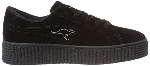 5001 Black Baskets Femme Kanpu jet Kangaroos Noir Hxw87q0n14