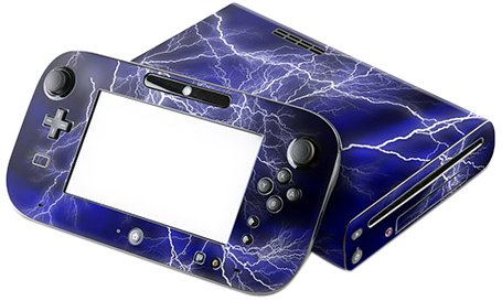 DecalGirl Decorative Skin/Decal for Nintendo Wii U - Apocalypse Blue