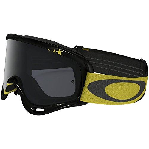 Oakley O-Frame MX Flight Series Goggles (Black Frame/Dark Gray - Goggles Custom Oakley