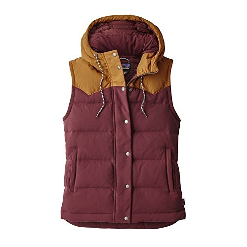 Patagonia W's Bivy Hooded Vest Dark Ruby 27746 (Small, Dark Ruby) (Patagonia Womens Down Vest Apparel)