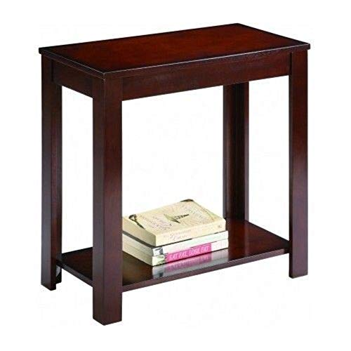 Snow Shop Everything Side Table Chair End Wood Stand Living Room Espresso Nightstand Sofa Night Shelf (Mahogany Outdoor Sofa)