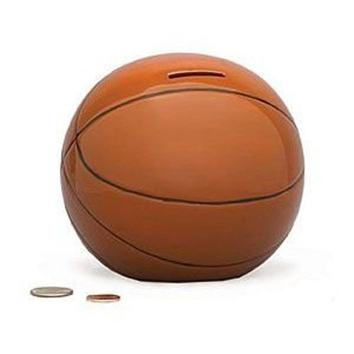 Ceramic Nba Basketball - Basketball Sports Themed Ceramic Kids Piggy Bank Bedroom Decor
