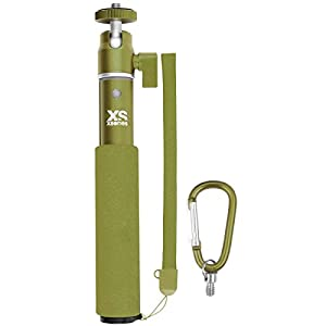 XSories U-Shot Monochrome Monopod Telescoping Camera Pole 1.5 Feet Extension (Deep Forest Green)