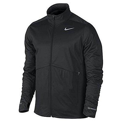 Nike Men's Element Shield Full-Zip Running Jacket - Black (Medium)