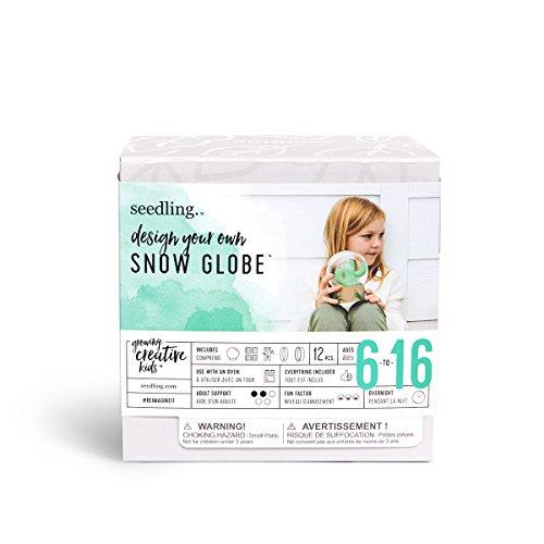 Seedling Design Your Own Let Holiday Snow Globe Creative Kit (Seedling Globe)