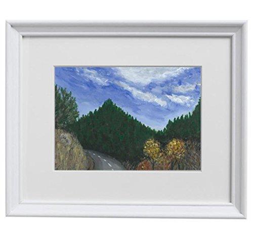 11x14 - A Drive Outside Denver - Original Acrylic Colorado Mountain Landscape Painting on - Denver Int