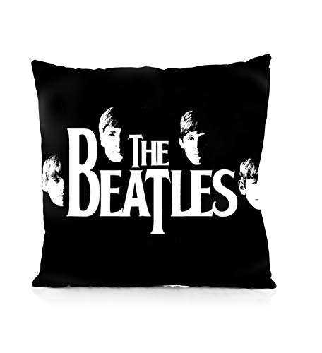 Rechzng Li The Beatles Square Pillowcase Both Sides Print Zipper Pillow Covers 18x18 Inches (Beatles Pillow The)