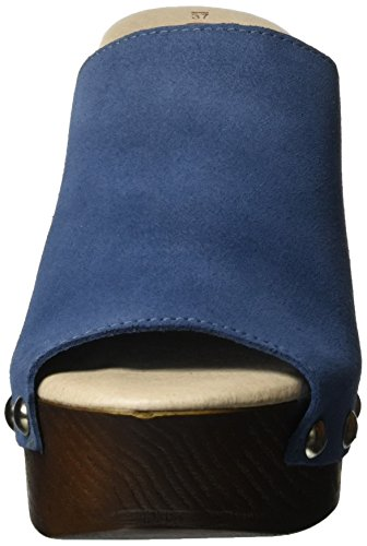 XTI Damen Jeans Suede Ladies Shoes Clogs Blau (Jeans)