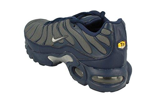 sale outlet Nike Air Max Plus TN (GS) Youth Sneaker Dark Grey Metallic Silver 054 discount ebay discount really Ryn1nXtv