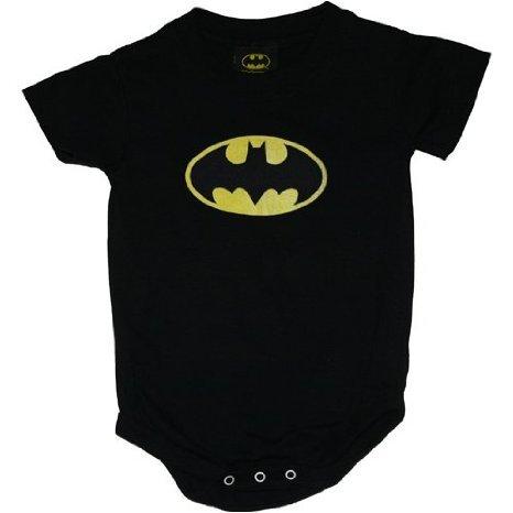 CLASSIC BATMAN LOGO INFANT S/S SNAPSUIT, 18MO -