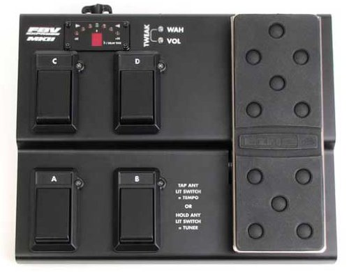 Line 6 FBV Express MkII 4-button Foot Controller by Line 6