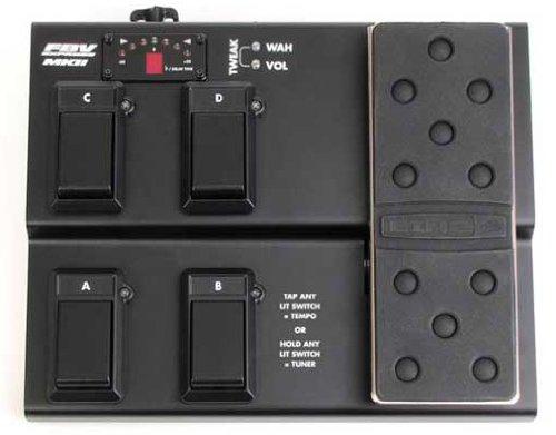 Line 6 FBV Express MkII 4-button Foot Controller (Midi Pedal Controller)