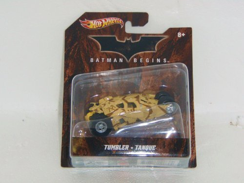 Hot Wheels Batman Begins TUMBLER 1:50 Scale 2012 Batman Series Vehicle