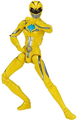Limited Edition Mighty Morphin Power Ranger Legacy Movie Figures Toys R Us Exclusive Yellow Ranger Bandai America