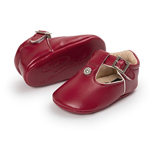 Zapatillas Auxma Niño Bebé 12 Del Rojo Zapatos Para 6 Las 3 Mes Princesa De 6 Deporte La Suaves 18 12 q8XXwEax