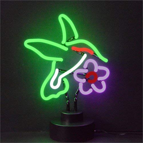 Neonetics Business Signs Hummingbird Neon Sign Sculpture ()