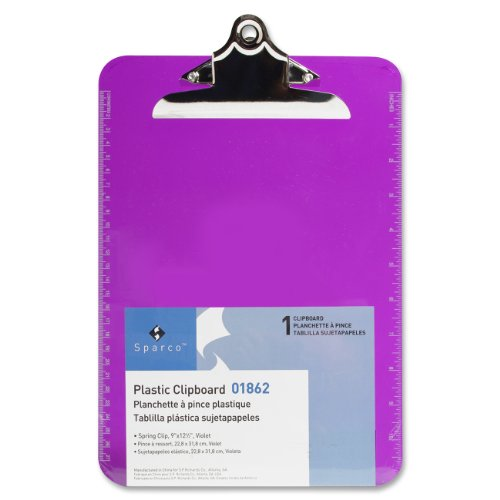 Richards Company Transparent Clipboard SPR01862