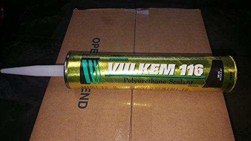 Gray Tremco Vulkem 116 Polyurethane Sealant 10.1 Oz Caulk Tube