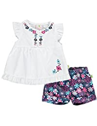 "Duck Duck Goose Baby Girls' ""Garden Vines"" 2-Piece Outfit"