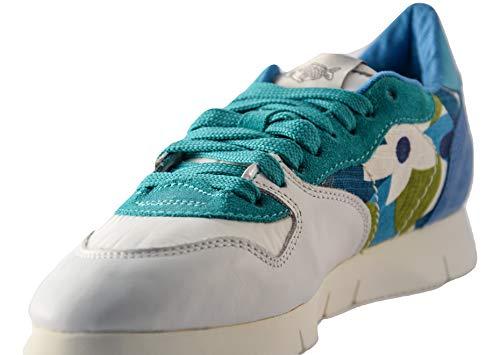 Caribbean Blu Sneakers Donna 38 Denise 140224 Soya Scarpe Fish nqY760pY