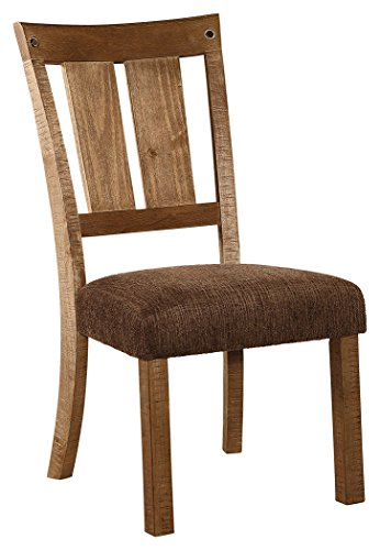Ashley Fitments Signature Design - Tamilo Dining Chair - Set of 2 - Dark Brown