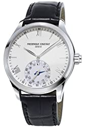 Frederique Constant Horological Smart Watch Silver Dial Mens Watch FC-285S5B6