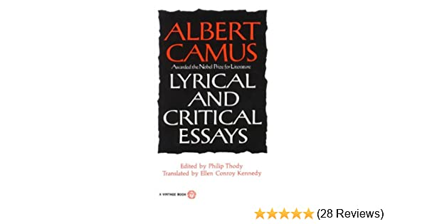 Amazon lyrical and critical essays vintage international amazon lyrical and critical essays vintage international ebook albert camus philip thody ellen conroy kennedy kindle store fandeluxe Image collections