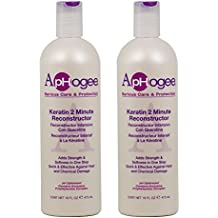 """ApHogee Keratin 2 Minute Reconstructor 16oz """"Pack of 2"""""""