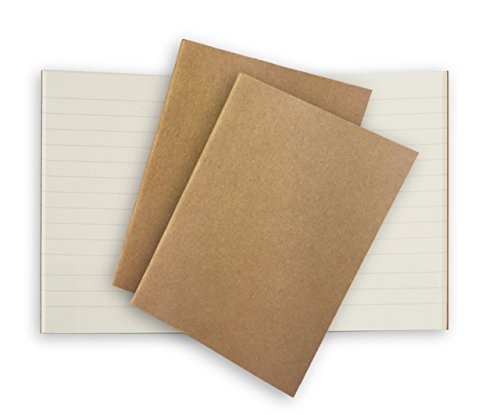 Passport Traveller's Notebook Paper Refill 3 Pack 80gsm Cream Lined Inserts for Pocket Leather Journals 5