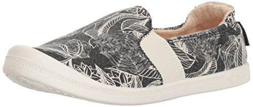 Sneaker Black Slip On Palisades Fg Roxy Shoe Women's w14vxqR