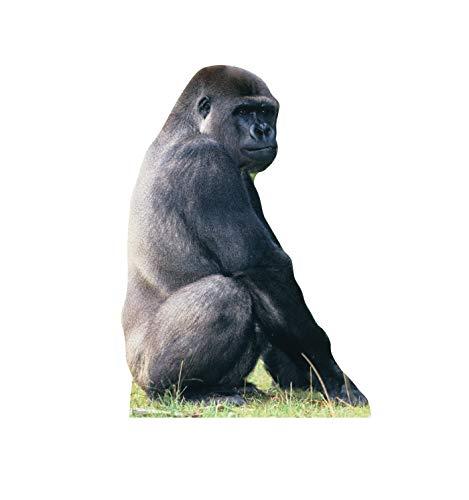 Advanced Graphics Gorilla Life Size Cardboard Cutout ()
