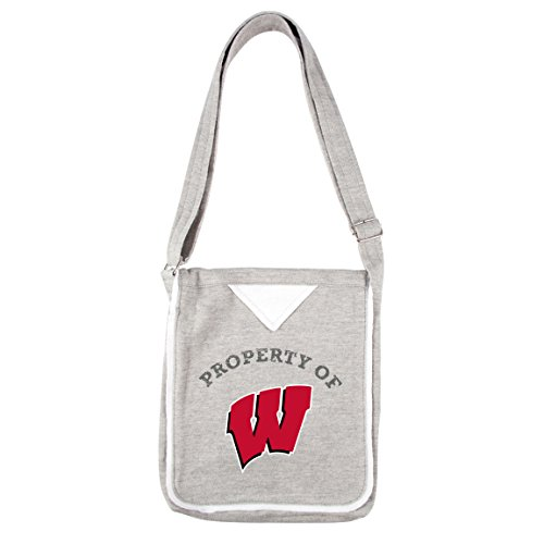 NCAA Wisconsin Badgers Hoodie Cross Body Bag (Bag Badgers Wisconsin Gym)