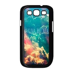 Custom Samsung Galaxy S3 I9300 Case, Zyoux DIY Cheap Samsung Galaxy S3 I9300 Cell Phone Case - Hakuna Matata