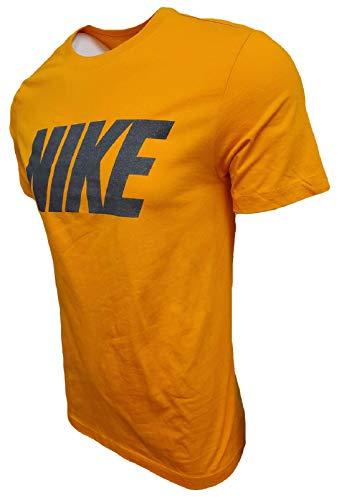 Nike Men's Italic Graphic Logo Crewneck T-Shirt 3