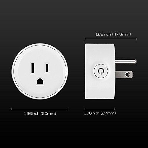 Wi-Fi Smart Plug, Mini Outlets work with Alexa, Voice APP Remote Control Socket from Anywhere with Timer Function, No Hub Required, 6 Pack by TORCHSTAR (Image #7)