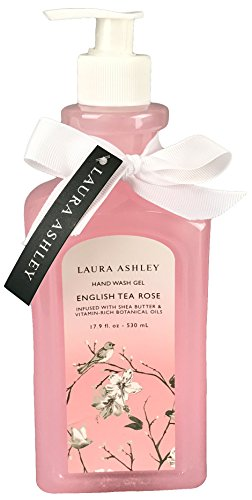 Price comparison product image Laura Ashley Shea Butter and Botanical Oils Hand Wash (English Tea Rose)