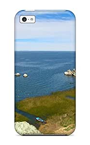 New Anna Paul Carter Super Strong Titicaca Lake Tpu Case Cover For Iphone 5c
