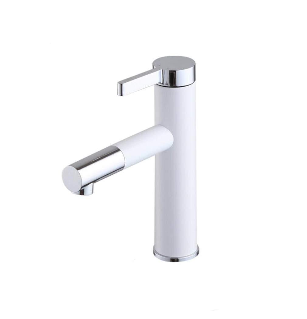 Copper Paint Bathroom Faucet Single Hole Basin Faucet hot and Cold wash Basin wash wash Basin Pull Faucet