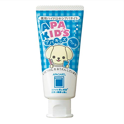 Apagard Apa-Kids toothpaste 60g | the first nanohydroxyapatite remineralizing toothpaste for kids ()