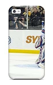 DanRobertse Shockproof Scratcheproof New York Rangers Hockey Nhl (9) Hard Case Cover For Iphone 5c