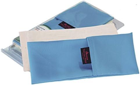 BZAHW Yoga Eye Pillow Lavender Graines de Lin Relax Eye Patch M/éditation Masque de Yoga pour Les Yeux