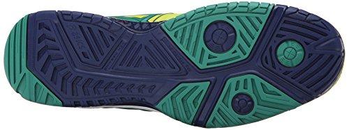 Asics Mens Gel-resolution 6 Scarpe Da Tennis Lime / Pine / Indigo Blue