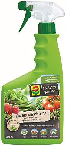 Comprar Compo Bio Stop Insecticida para hortícolas, Apto para Agricultura ecológica, Control de plagas en hortalizas y Plantas aromáticas, 750 ml