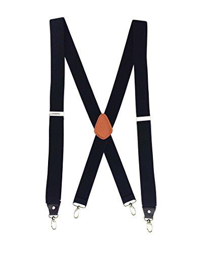 Romanlin Mens Suspenders Heavy D...